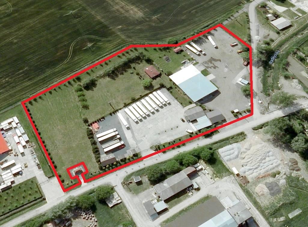 Komerční areál Petrov, plocha pozemků 18.899m2, Petrov u Hodonína, Jihomoravský kraj