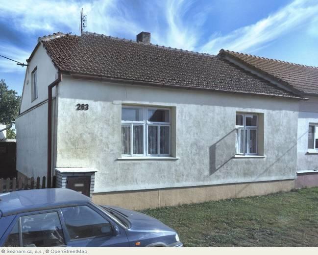 Podíl 2/3 RD  1+1, UP 55 m2, pozemek 1.824 m2, Blížkovice, Jihomoravský kraj