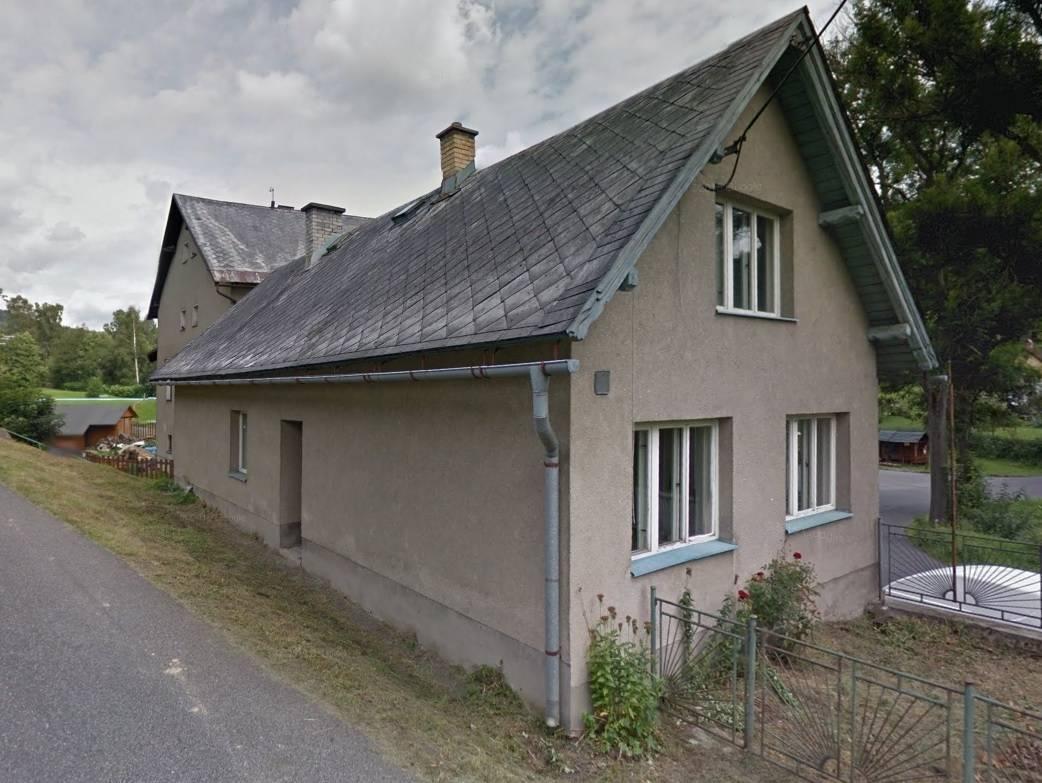 Prodej samostatně stojícího RD 2+1 se zahradou, k.ú. Zlatá Olešnice Navarovská, okr. Jablo