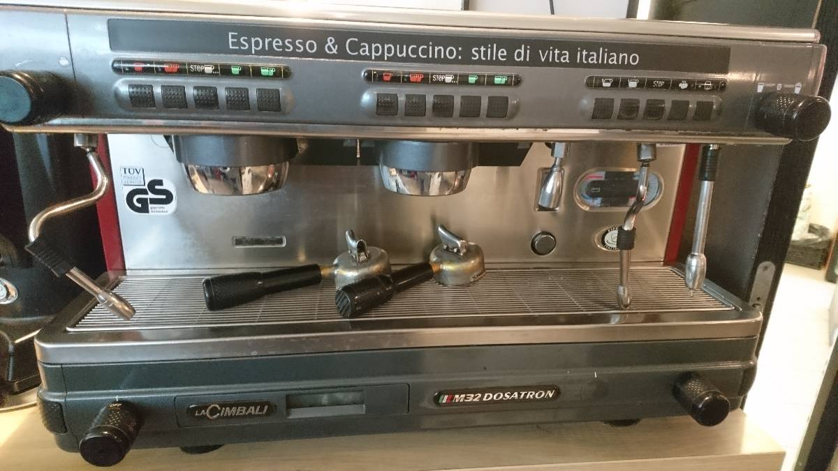 Kávovar dvoupákový La Cimbali M32 Dosatron původní cena 80.000,-