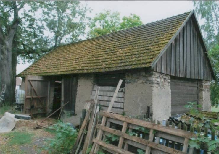 Prodej zemědělské stavby - stodoly, pozemek 2.496m2, Psárov, okres Tábor